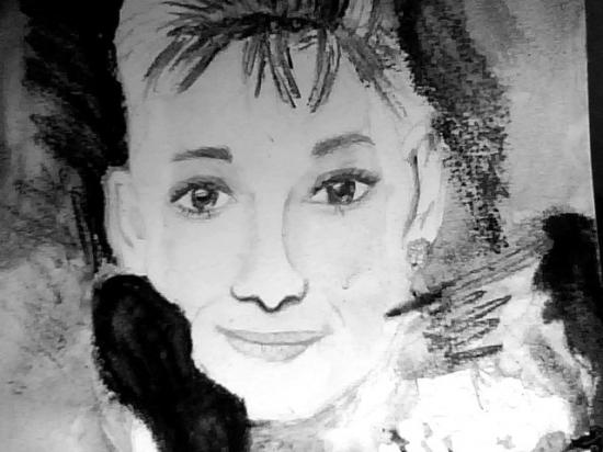 Audrey Hepburn by TokioHotel_sigrid